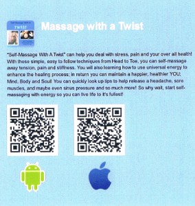 QR Codes for Self-Massage With A Twist